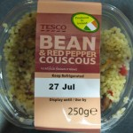 The container of couscous.