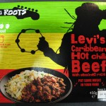 Levi's Caribbean Hot Chilli Beef with Seasoned Rice