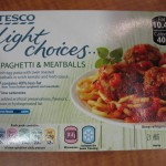 Tesco Light Choices Spaghetti & Meatballs