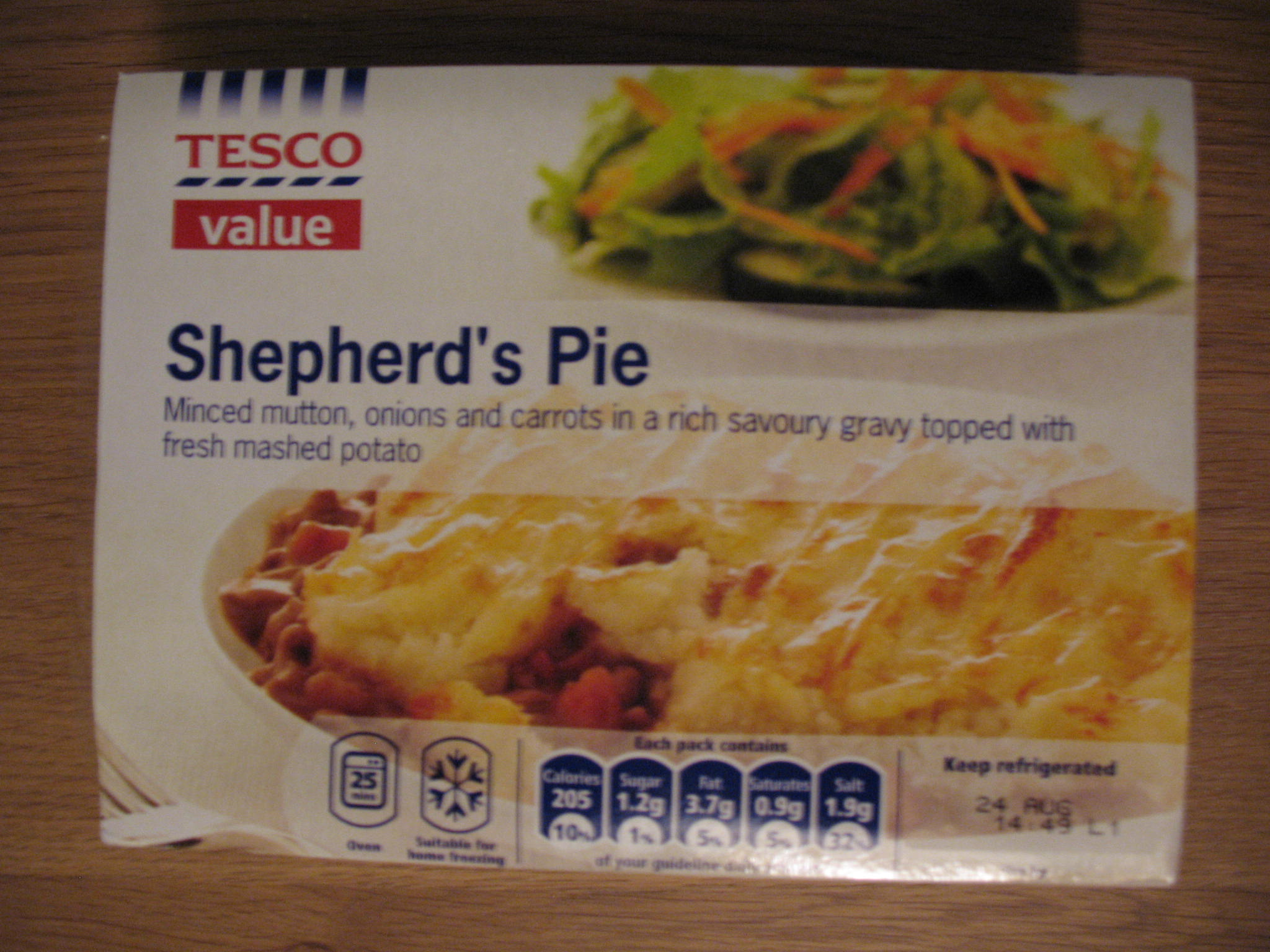 Head-to-head: Tesco Shepherd's Pies