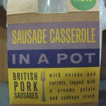 M&S Sausage Casserole in a Pot