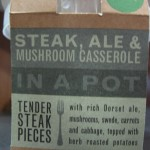 M&S Steak, Ale and Mushroom Casserole in a Pot